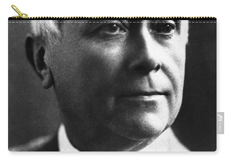 19th Century Carry-all Pouch featuring the photograph Maurice Maeterlinck by Granger