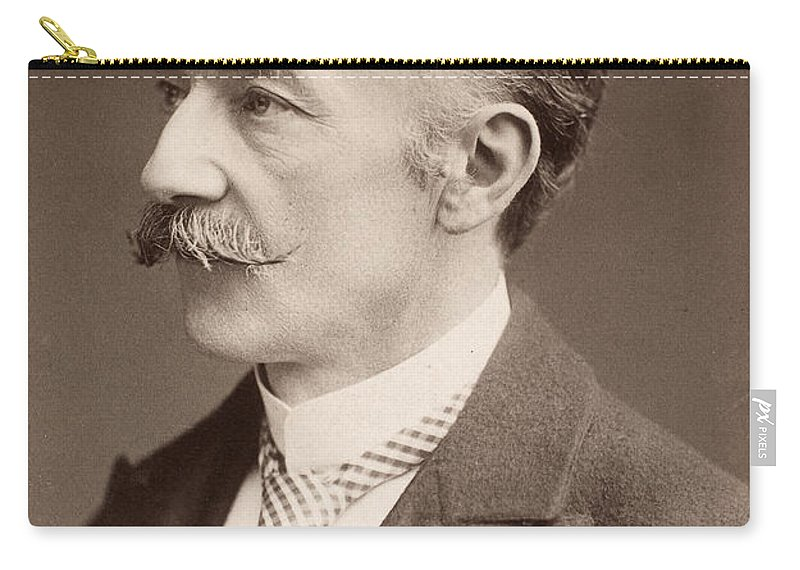 19th Century Carry-all Pouch featuring the photograph Thomas Hardy (1840-1928) by Granger