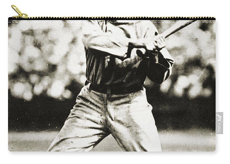 20th Century Carry-all Pouch featuring the photograph Ty Cobb (1886-1961) by Granger