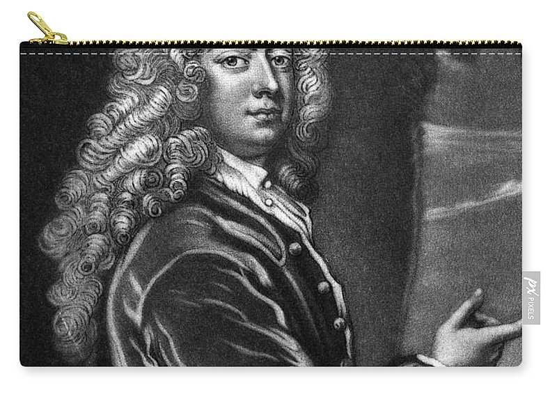 1709 Carry-all Pouch featuring the photograph William Congreve by Granger