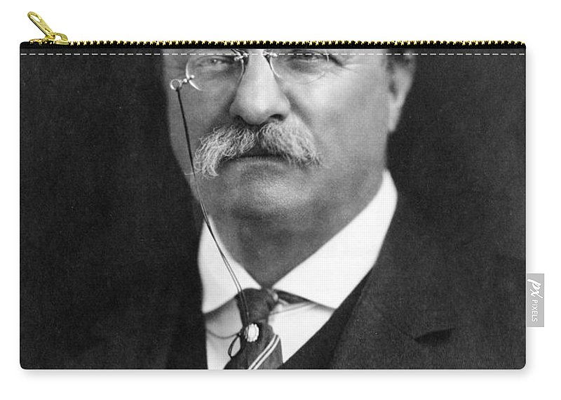 1913 Carry-all Pouch featuring the photograph Theodore Roosevelt by Granger