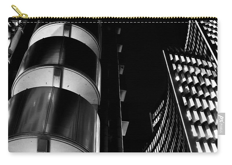 Lloyd's Carry-all Pouch featuring the photograph Lloyd's Building London by David Pyatt