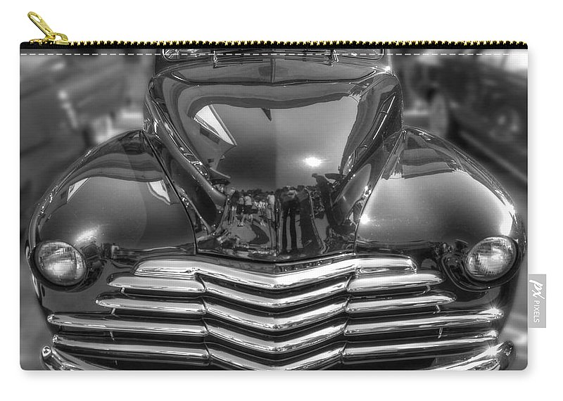 Chevy Carry-all Pouch featuring the photograph 48 Chevy Convertible by Anthony Wilkening