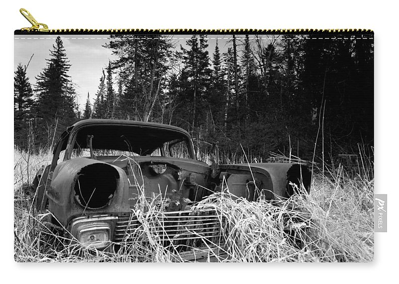 1956 Chevy Carry-all Pouch featuring the photograph 1956 Chevy by Cale Best