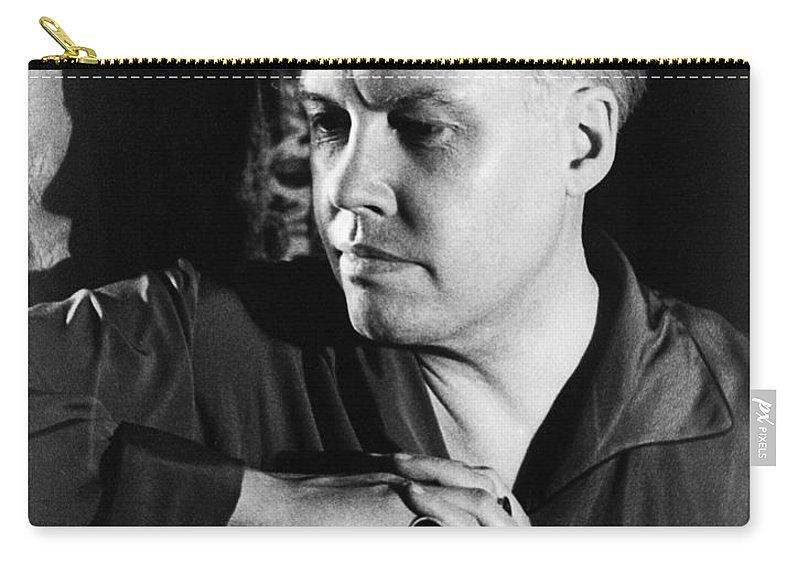 1934 Carry-all Pouch featuring the photograph Carl Van Vechten (1880-1964) by Granger