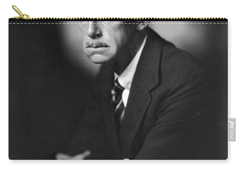 1933 Carry-all Pouch featuring the photograph Eugene Oneill (1888-1953) by Granger