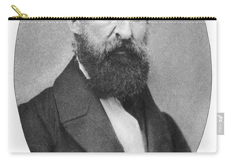 19th Century Carry-all Pouch featuring the photograph Henry David Thoreau by Granger