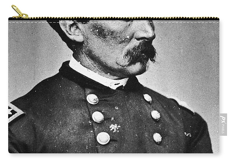 19th Century Carry-all Pouch featuring the photograph Philip Henry Sheridan by Granger