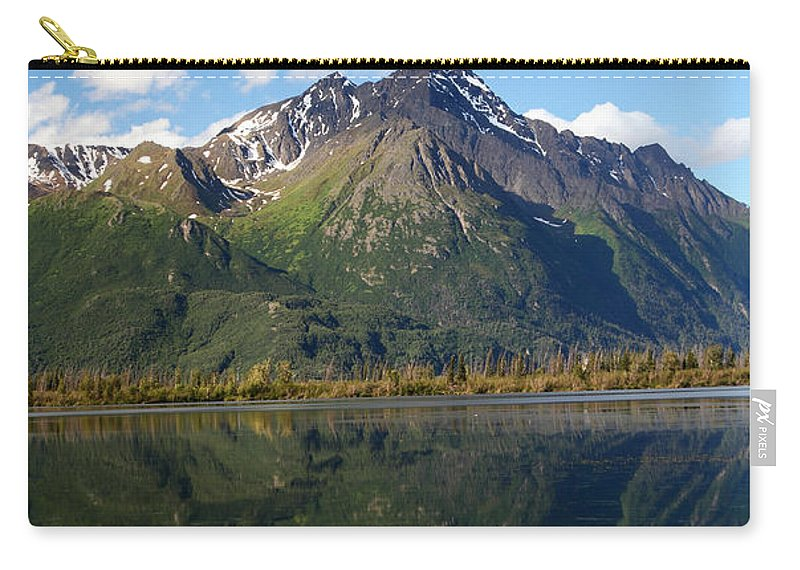 Doug Lloyd Carry-all Pouch featuring the photograph Pioneer Peak by Doug Lloyd