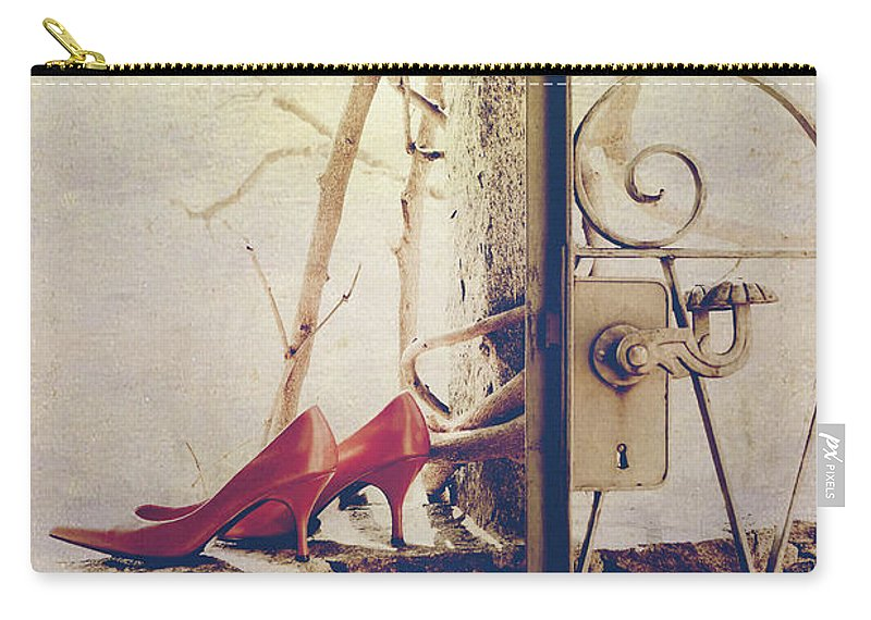 Shoes Carry-all Pouch featuring the photograph Pumps by Joana Kruse