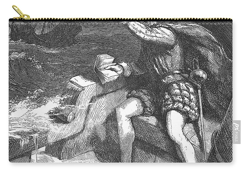 1583 Carry-all Pouch featuring the photograph Sir Humphrey Gilbert by Granger