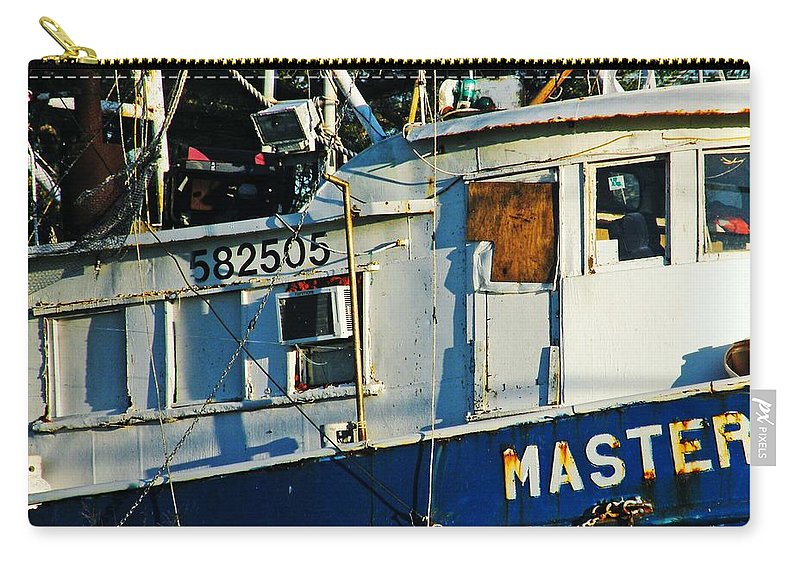 Boat Carry-all Pouch featuring the photograph 582505 by Lizi Beard-Ward