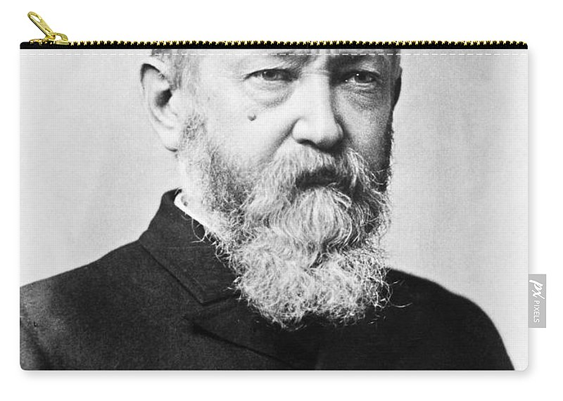 1888 Carry-all Pouch featuring the photograph Benjamin Harrison by Granger