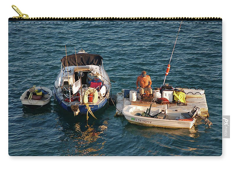 Beach Carry-all Pouch featuring the photograph 6- Home-sweet-home by Joseph Keane