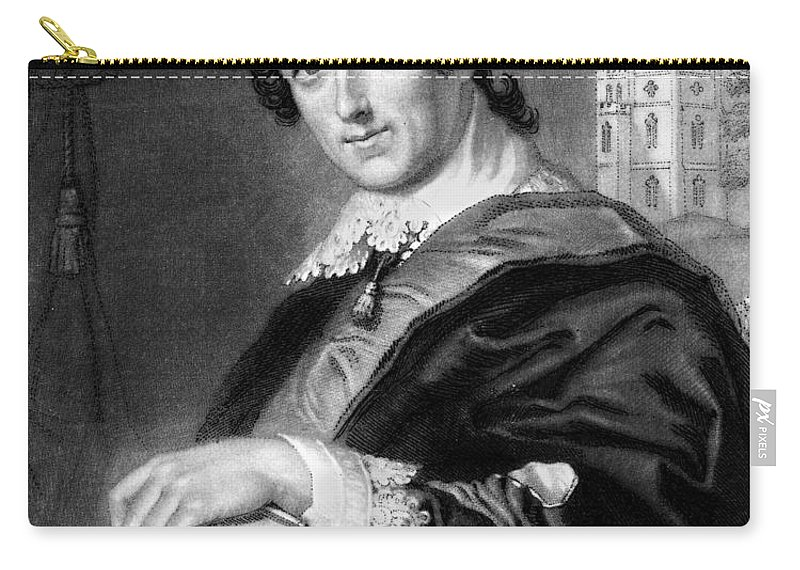 1754 Carry-all Pouch featuring the photograph Horace Walpole (1717-1797) by Granger