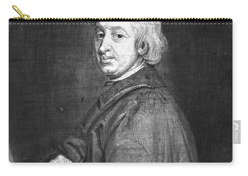 Dryden Carry-all Pouch featuring the photograph John Dryden (1631-1700) by Granger