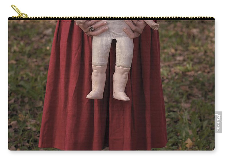 Woman Carry-all Pouch featuring the photograph Old Doll by Joana Kruse