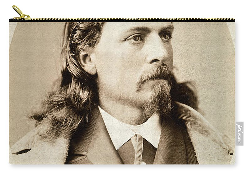 1880 Carry-all Pouch featuring the photograph William F. Cody (1846-1917) by Granger