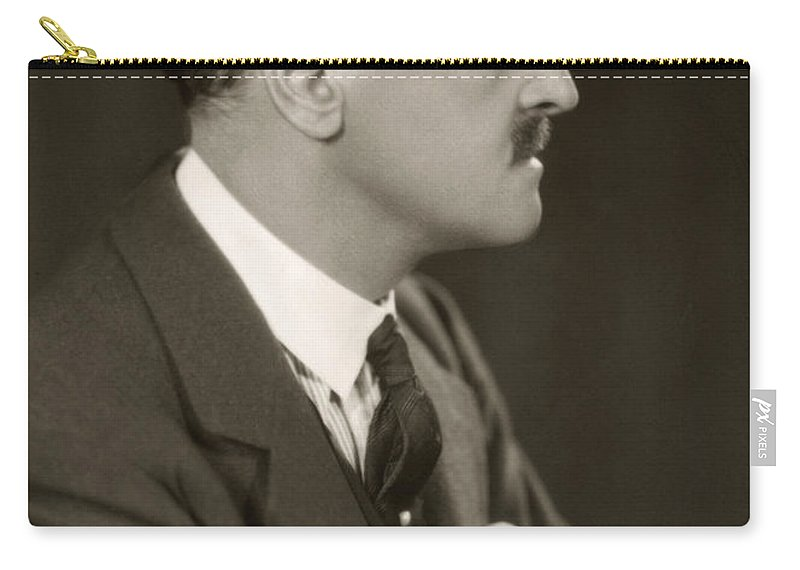 19th Century Carry-all Pouch featuring the photograph William Somerset Maugham by Granger