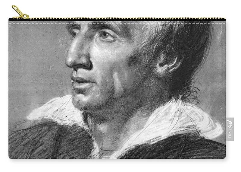 1820 Carry-all Pouch featuring the photograph William Wordsworth by Granger