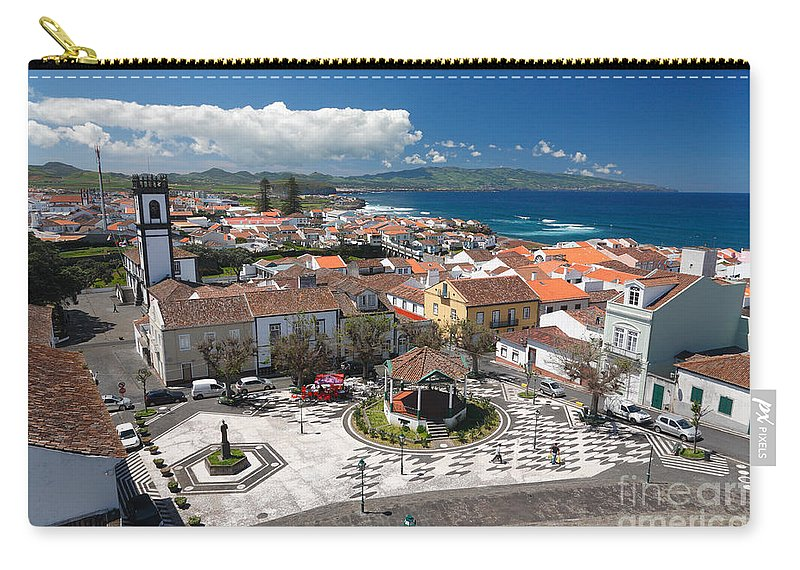 Azores Carry-all Pouch featuring the photograph Ribeira Grande - Azores by Gaspar Avila