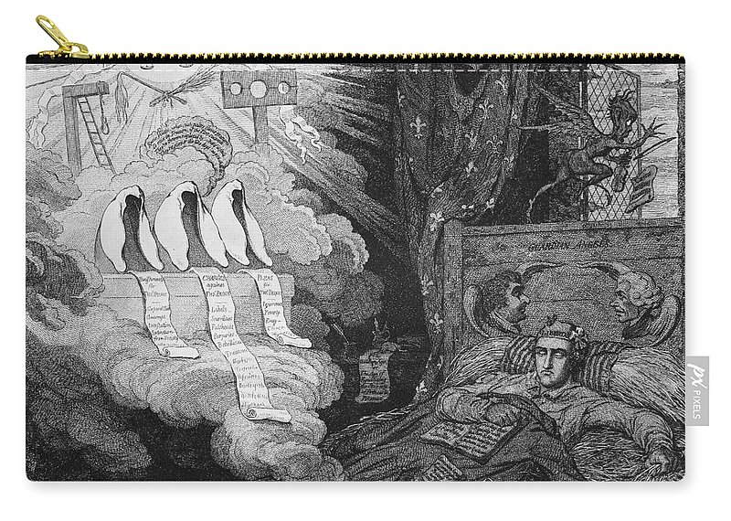 1792 Carry-all Pouch featuring the photograph Thomas Paine (1737-1809) by Granger