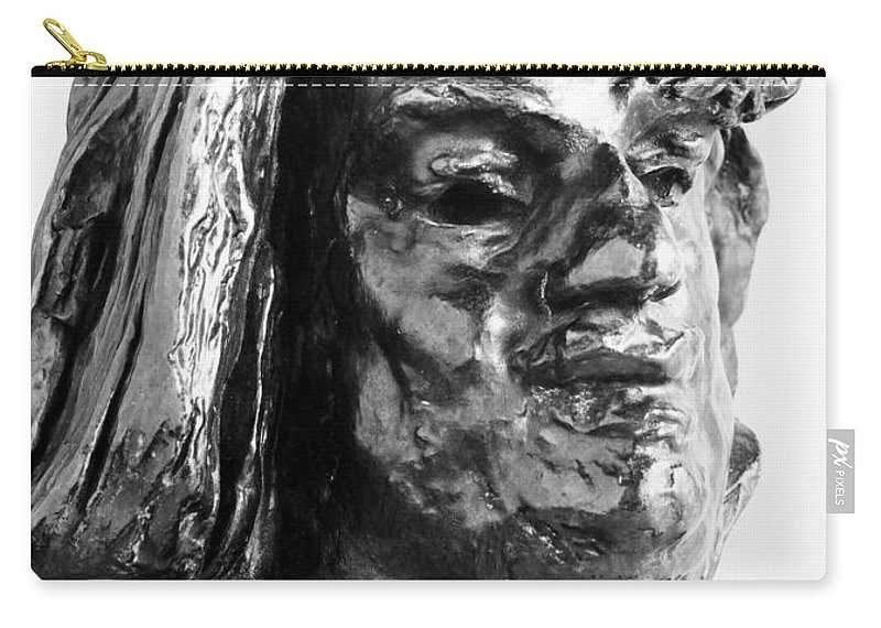 1893 Carry-all Pouch featuring the photograph Honore De Balzac (1799-1850) by Granger