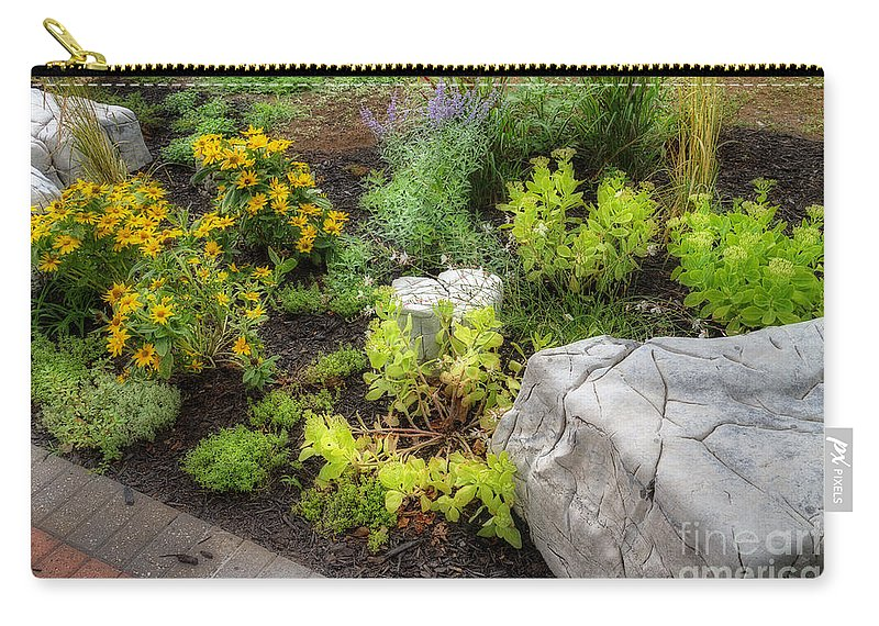 Acrylic Prints Carry-all Pouch featuring the photograph A Corner Of Brenda's Talent by John Herzog
