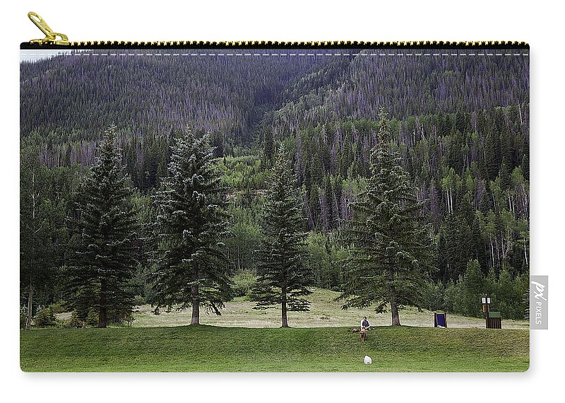 Vail Carry-all Pouch featuring the photograph A Day At The Park In Vail by Madeline Ellis
