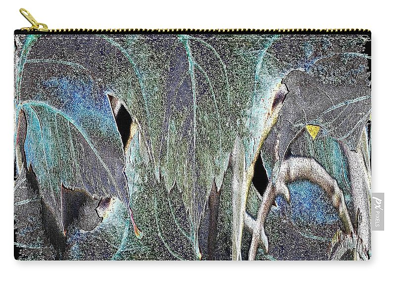 Leaf Carry-all Pouch featuring the digital art A Day In The Leaf by Tim Allen