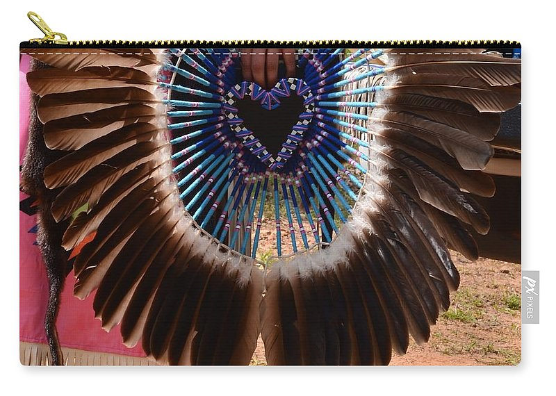 Indian Carry-all Pouch featuring the photograph A Loving People by Maria Urso