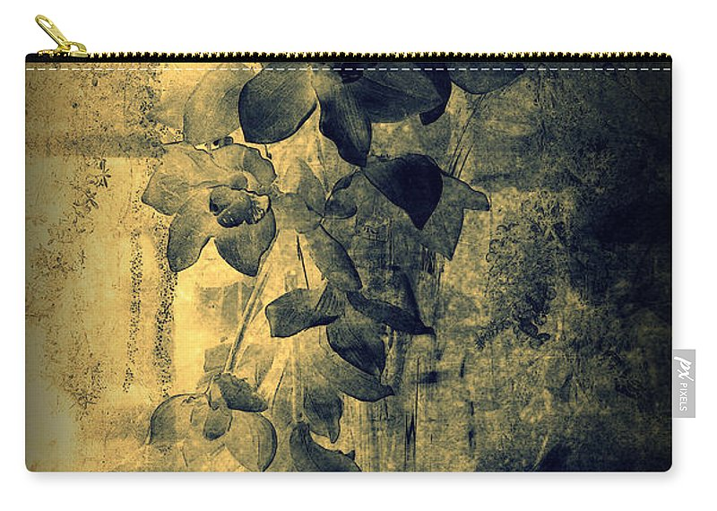 Orchid Carry-all Pouch featuring the photograph A Medley Of Orchids by Susanne Van Hulst