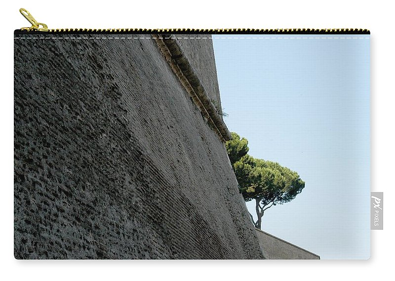 Italy Carry-all Pouch featuring the photograph A Mighty Fortress by Joseph Yarbrough