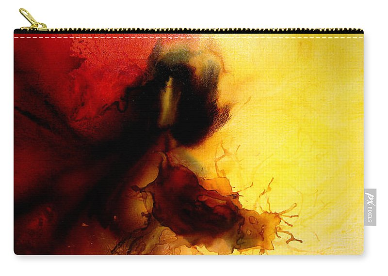 Surreal Prints Carry-all Pouch featuring the painting A Moment In Heaven by Henry Parsinia