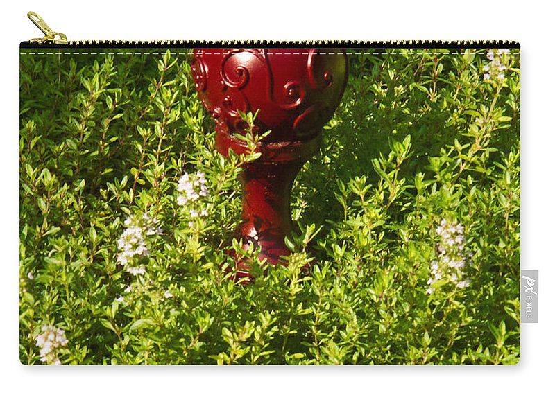 Orb Carry-all Pouch featuring the photograph A Orb In Thyme by Douglas Barnett