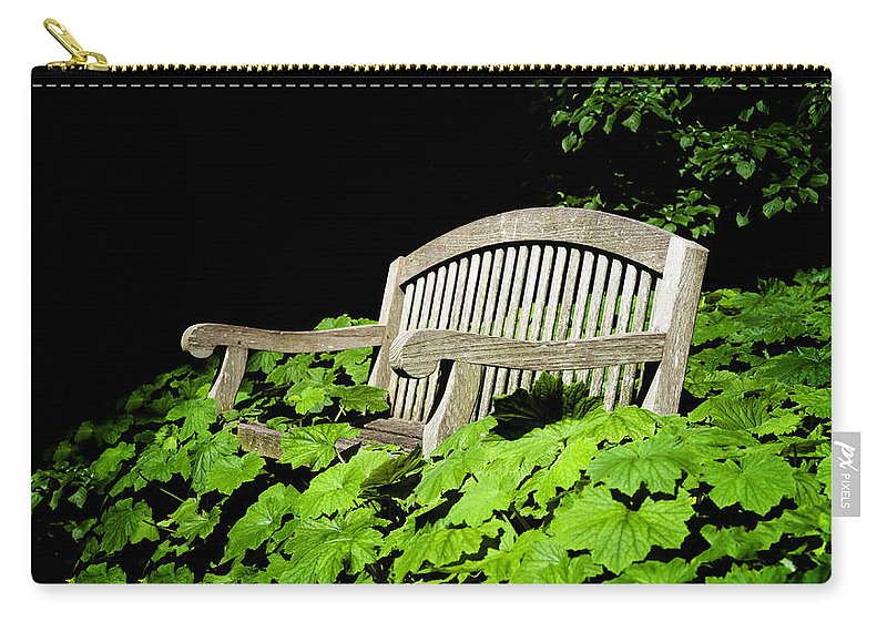 A Place To Rest Carry-all Pouch featuring the photograph A Place To Rest by Bill Cannon