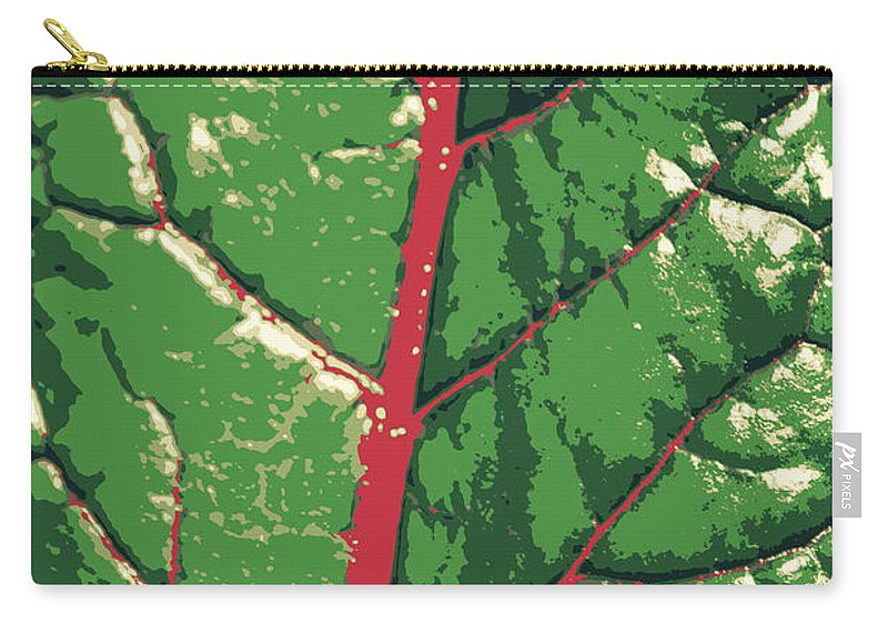 Leaf Carry-all Pouch featuring the photograph A River Runs Through It by Diane montana Jansson