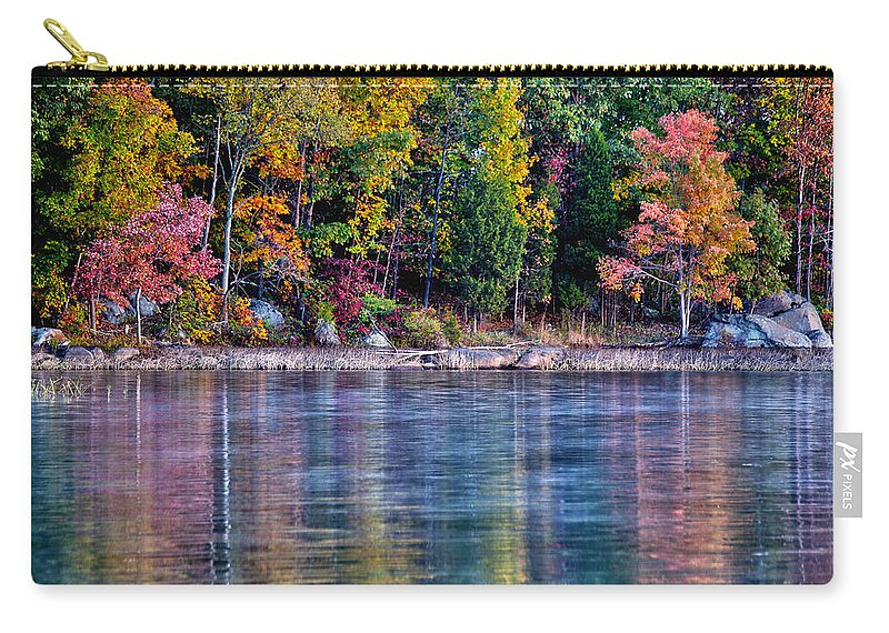 Autumn Carry-all Pouch featuring the photograph A Second Spring by Mitch Cat