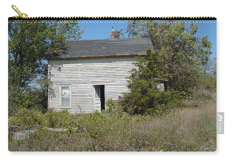 Abandoned Carry-all Pouch featuring the photograph Abandoned by Bonfire Photography