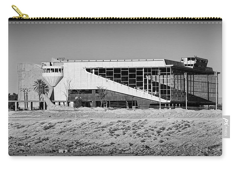 Trotter Park Carry-all Pouch featuring the photograph Abandoned Trotter Park by Kelley King