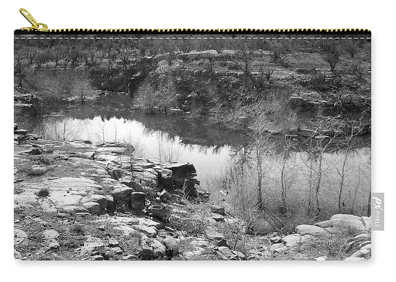 Lake Carry-all Pouch featuring the photograph Abiquiu Lake by Grace Art Photography