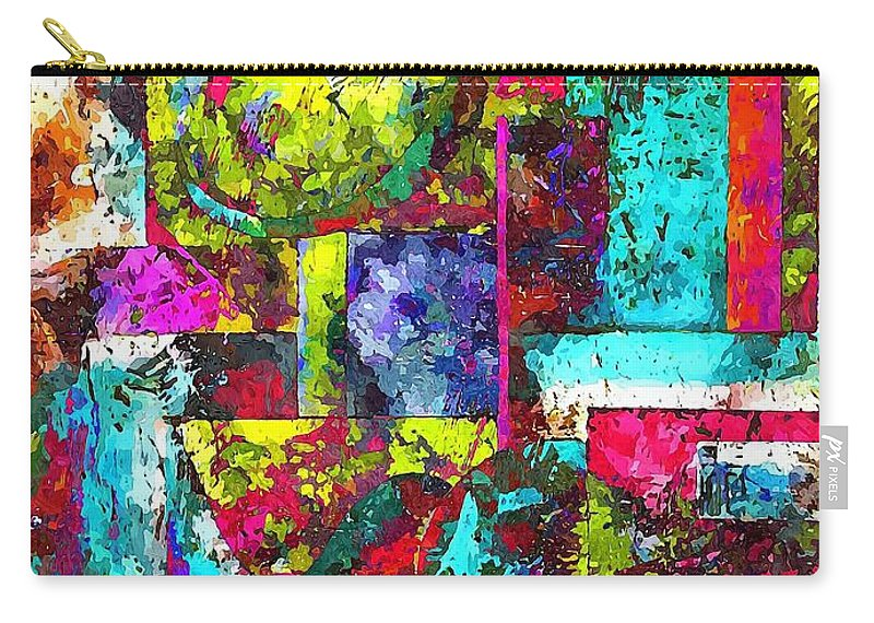 Graphics Carry-all Pouch featuring the digital art Abs 0367 by Marek Lutek