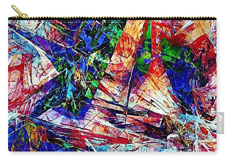 Graphics Carry-all Pouch featuring the digital art Abs 0386 by Marek Lutek