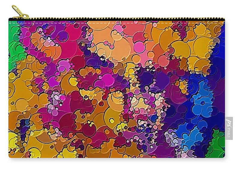 Graphics Carry-all Pouch featuring the digital art Abs 0483 by Marek Lutek