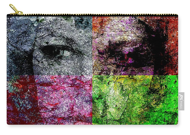 Graphics Carry-all Pouch featuring the digital art Abs 0488 by Marek Lutek