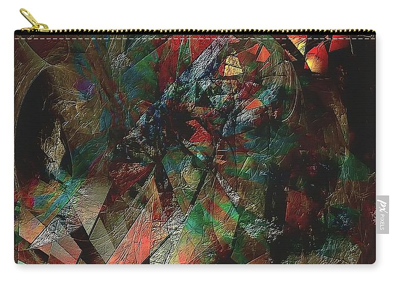Graphics Carry-all Pouch featuring the digital art Abs 0568 by Marek Lutek
