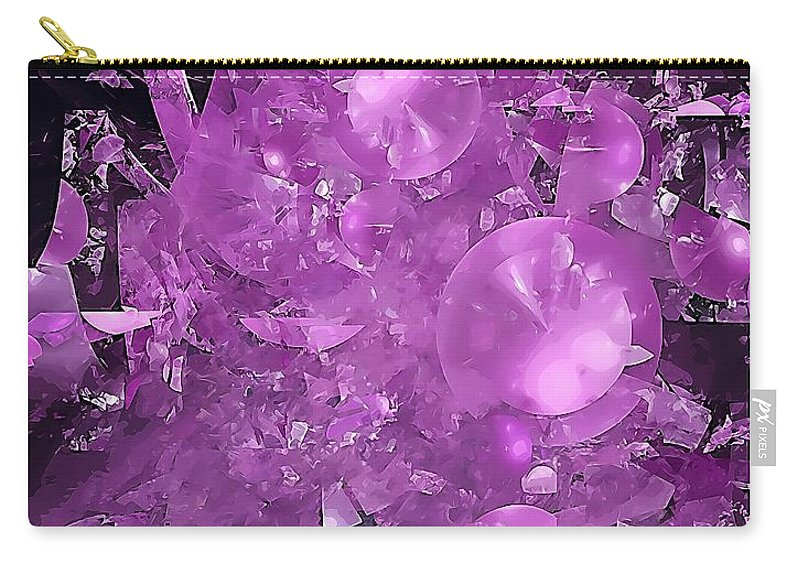 Graphics Carry-all Pouch featuring the digital art Abs 0571 by Marek Lutek