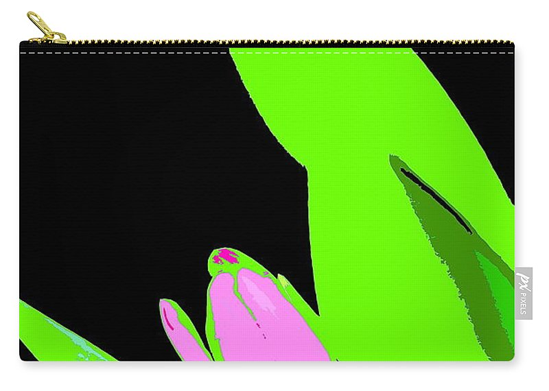 Abstract Carry-all Pouch featuring the photograph Abstract 184 by Pamela Cooper