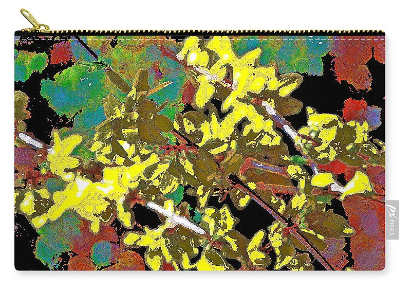 Abstract Carry-all Pouch featuring the photograph Abstract 216 by Pamela Cooper