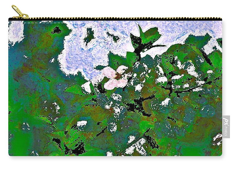 Abstract Carry-all Pouch featuring the photograph Abstract 218 by Pamela Cooper